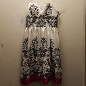 Black&White Design Dress